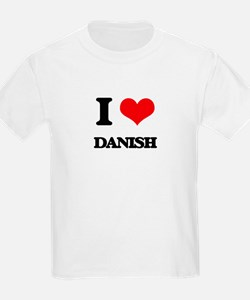 I Love Danish T-Shirt