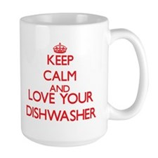 Keep Calm and love your Dishwasher Mugs