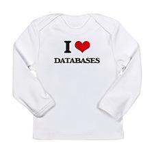 I Love Databases Long Sleeve T-Shirt