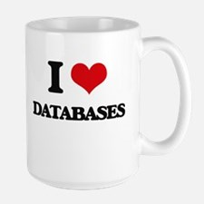 I Love Databases Mugs