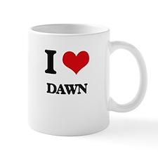 I Love Dawn Mugs