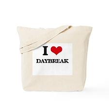 I Love Daybreak Tote Bag