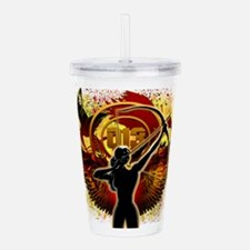 I Am The Mockingjay Acrylic Double-wall Tumbler
