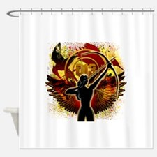 I Am The Mockingjay Shower Curtain