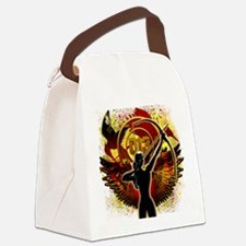 I Am The Mockingjay Canvas Lunch Bag
