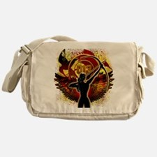 I Am The Mockingjay Messenger Bag
