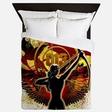 I Am The Mockingjay Queen Duvet