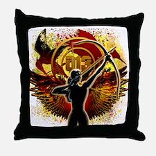 I Am The Mockingjay Throw Pillow