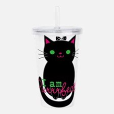 Purrfect Cat Acrylic Double-wall Tumbler