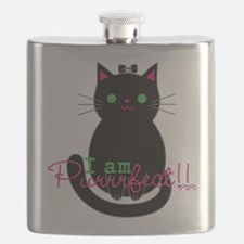 Purrfect Cat Flask