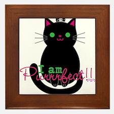 Purrfect Cat Framed Tile