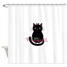 Purrfect Cat Shower Curtain