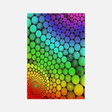 Rainbow Bubbles Magnets