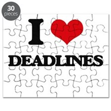 I Love Deadlines Puzzle