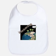 Let There Be Peas on Earth Bib