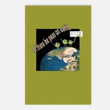 Let There Be Peas on Earth Postcards (Package of 8