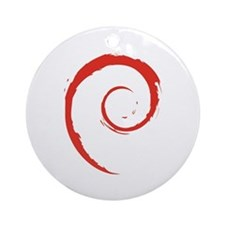 Debian Ornament (Round)