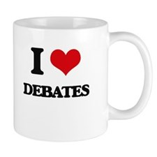 I Love Debates Mugs