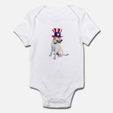 Uncle Sam Labrador Infant Bodysuit