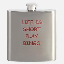 i love bingo Flask