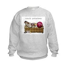 Couch Potatoes Sweatshirt