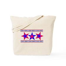 California 2-tone Patriot  Tote Bag