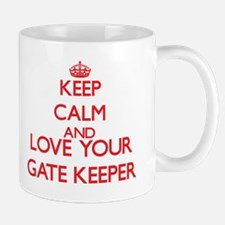 Keep Calm and love your Gate Keeper Mugs