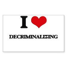 I Love Decriminalizing Decal