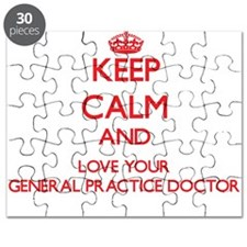 Keep Calm and love your General Practice Do Puzzle