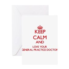 Keep Calm and love your General Pra Greeting Cards