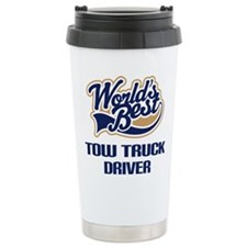 Unique Tow truck Travel Mug