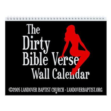 The 2011 Dirty Bible Verse Wall Calendar