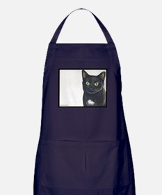 Sage the Lucky Loving Domestic Apron (dark)