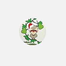 Pear-Tree Partridge Mini Button