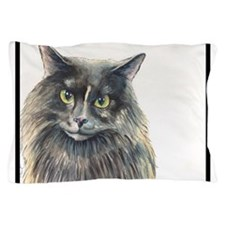 Cat-Cat the Masked Marauding Norwegian Pillow Case