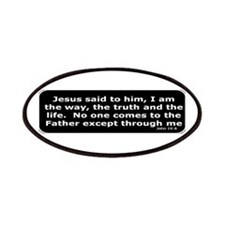 Bible verse John 14:6 Patches