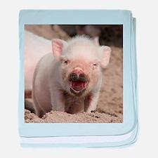 Piglet 001 baby blanket
