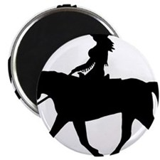 Unique Quarter horse racing Magnet