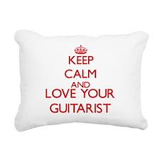 Keep Calm and love your Rectangular Canvas Pillow