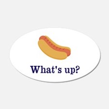 Whats up (Hot) Dog Funny Wall Decal