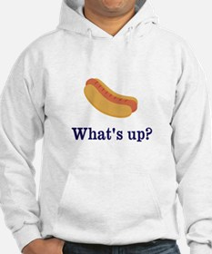Whats up (Hot) Dog Funny Hoodie
