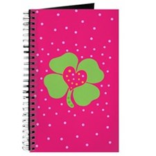 Cute 4 Leaf Clover Journal