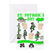 St. Patricks Day.png Greeting Cards