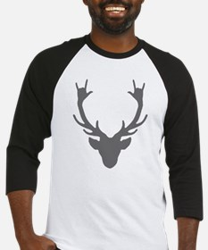 Reindeer with I Love You hand gesture Baseball Jer