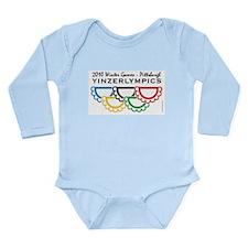 Unique Yinzer Long Sleeve Infant Bodysuit