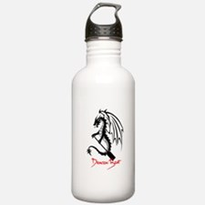 Dragon Boat red Text Sports Water Bottle