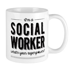 Social Worker Superpower Mug Mugs