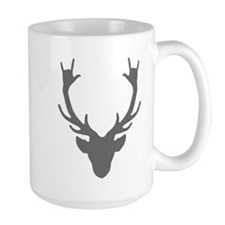 Reindeer with I Love You hand gesture Mugs
