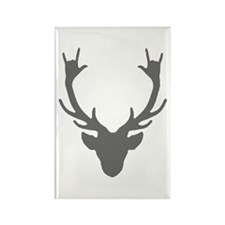 Reindeer with I Love You hand gesture Magnets