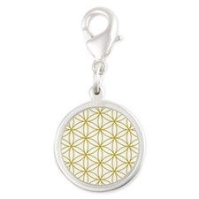 Flower of Life Gold Charms
